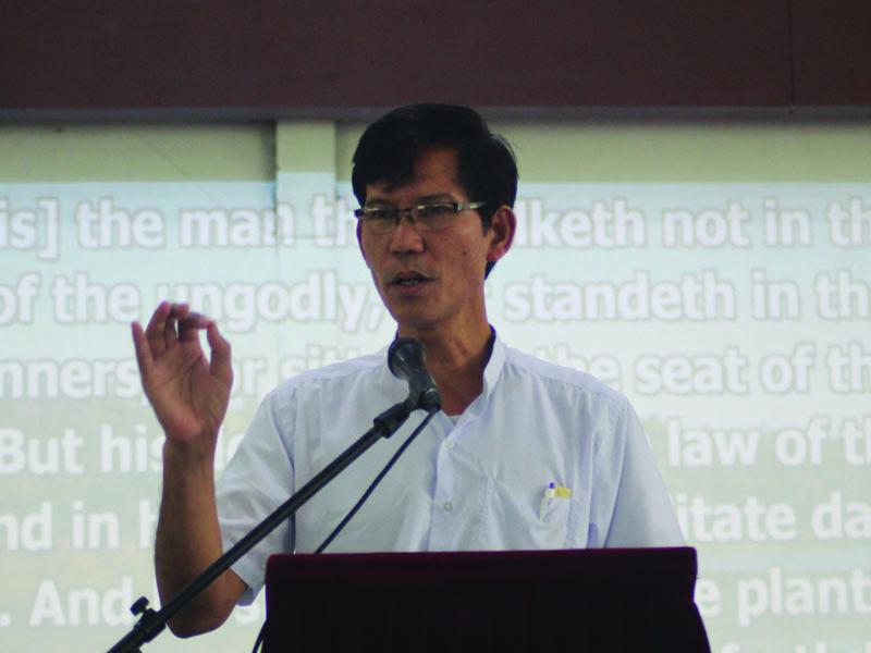 Pastor Morris, MYUM Education Director