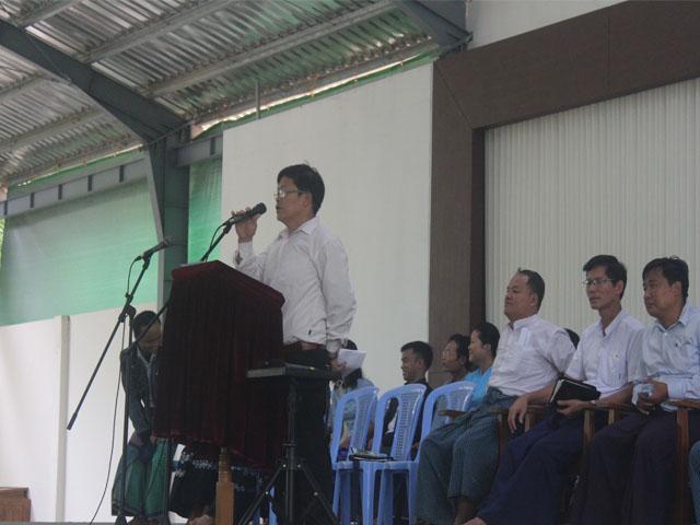 Pastor Paul, VP for Academic